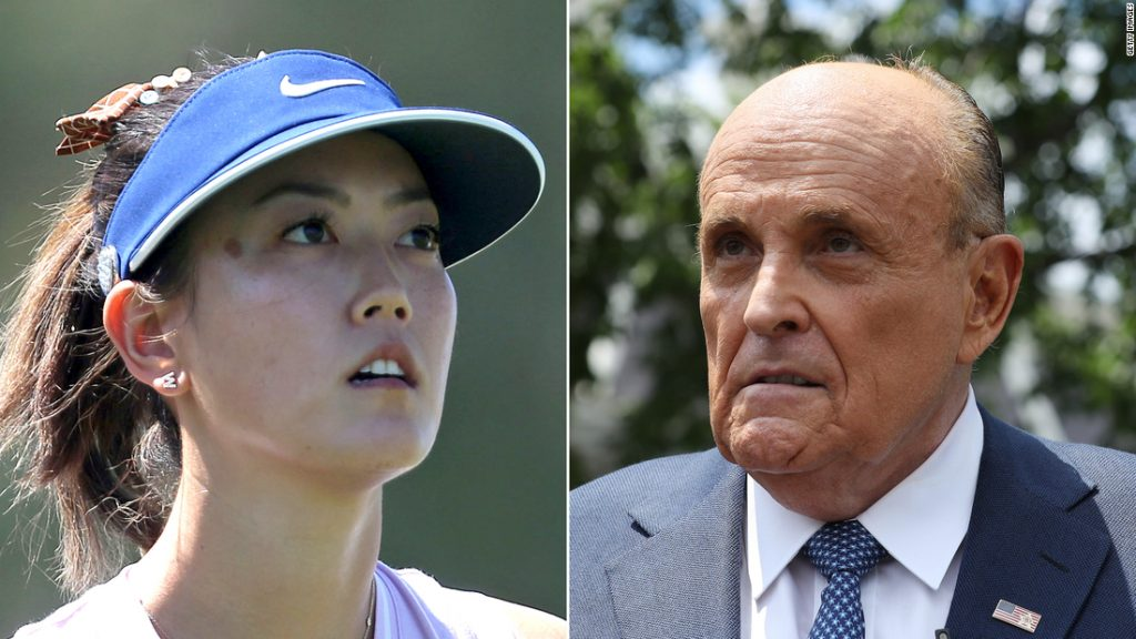 Golf world rallies around Michelle Wie West following Rudy Giuliani's 'highly inappropriate' comments on Steve Bannon podcast