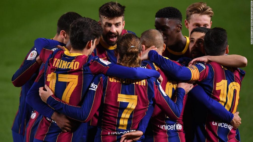 Barcelona given some respite from off-field points with beautiful comeback in opposition to Sevilla to succeed in Copa del Rey last