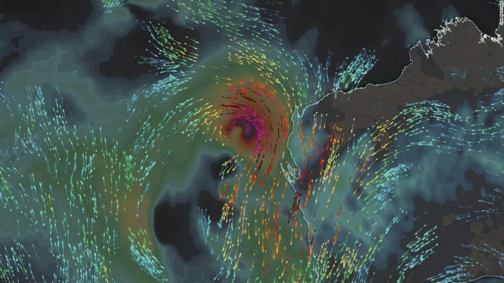 A uncommon tropical cyclone to make landfall in Western Australia