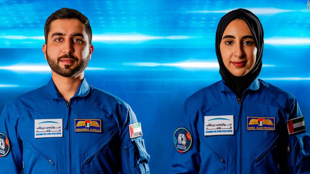 The United Arab Emirates introduced its first feminine astronaut