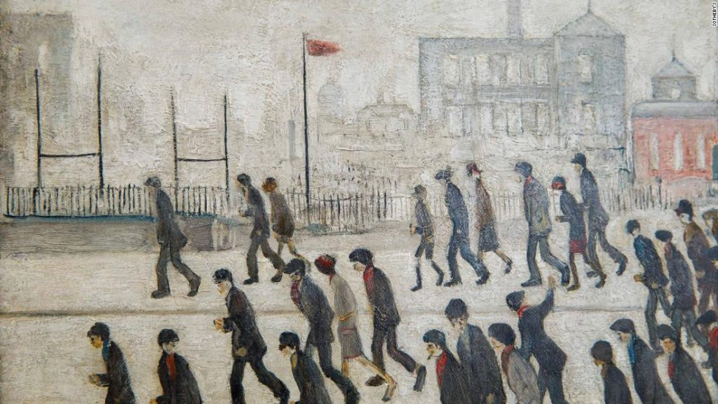 L.S. Lowry's 'Going to the Match' portray anticipated to promote at public sale for as much as $4 million