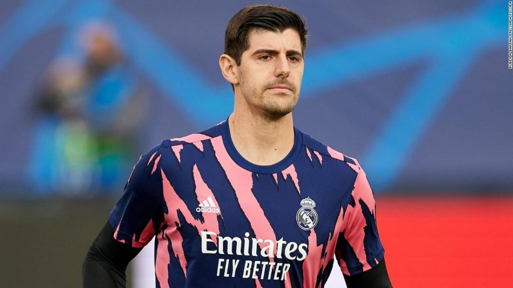Champions League: Actual Madrid goalkeeper Thibaut Courtois in 'glad place' forward of essential semifinal with former membership