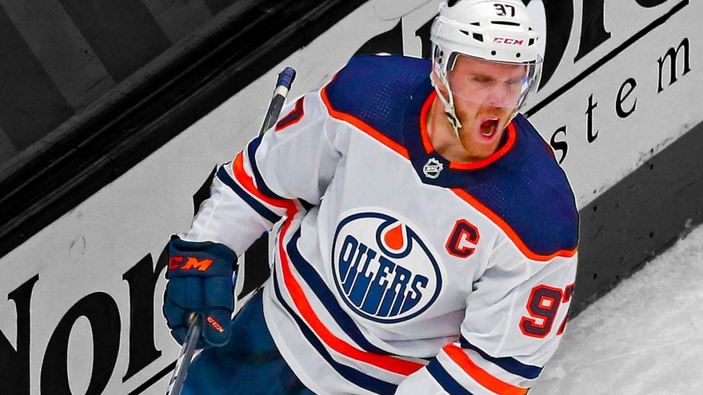 Connor McDavid has shot at 100-point season in 56 video games