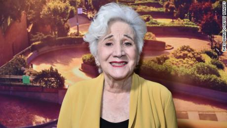 """Olympia Dukakis attends the premiere of """"Tales Of The City"""" at The Metrograph in New York City on June 3, 2019."""