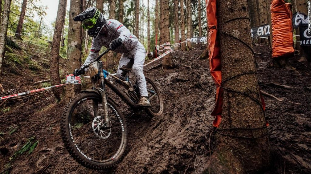 Reece Wilson: Downhill World Champion says he loves life 'on the restrict'