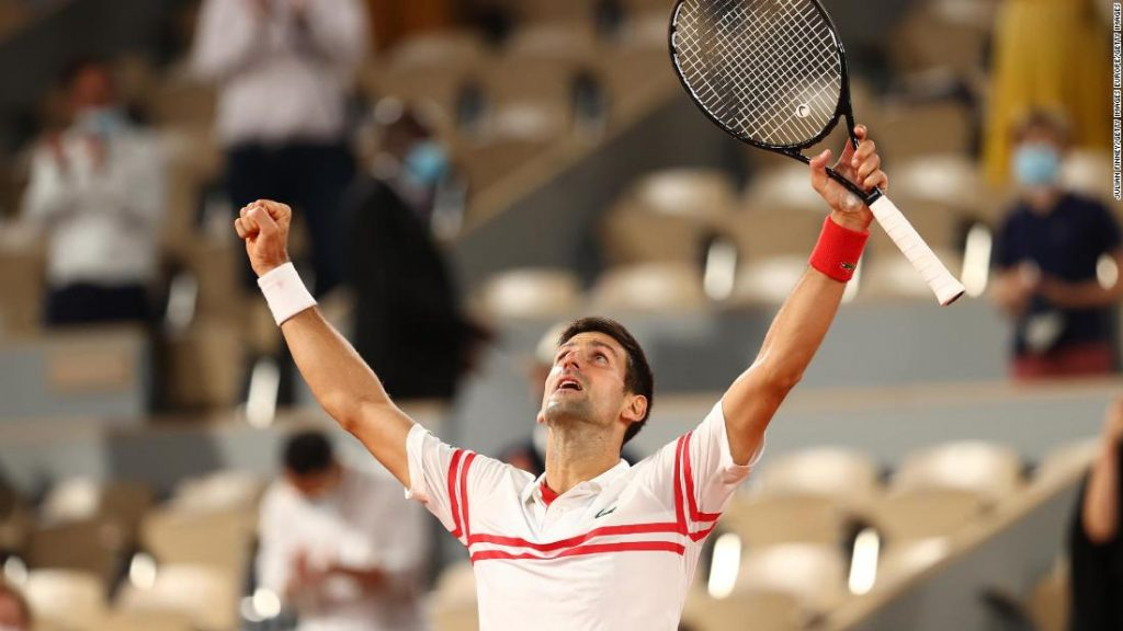 Novak Djokovic defeats Rafael Nadal in excitement to reach the French Open final