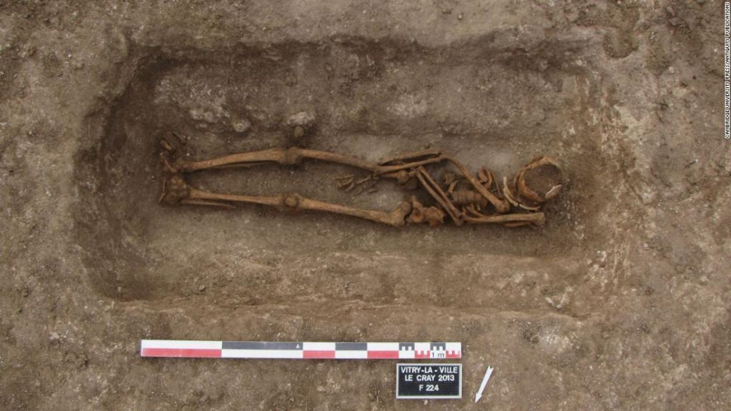 Medieval Europeans usually reopened graves — and to not rob them