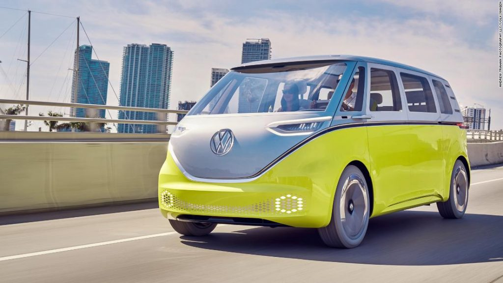 VW hopes its electrical bus can drive large gross sales development within the US