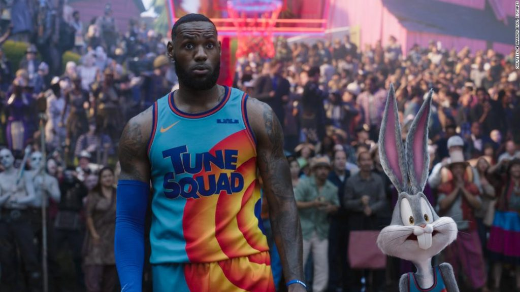 'Area Jam' and LeBron James rating successful on the field workplace this weekend