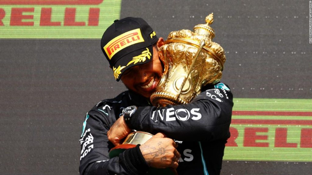 Lewis Hamilton focused with racist abuse on-line after controversial British Grand Prix victory
