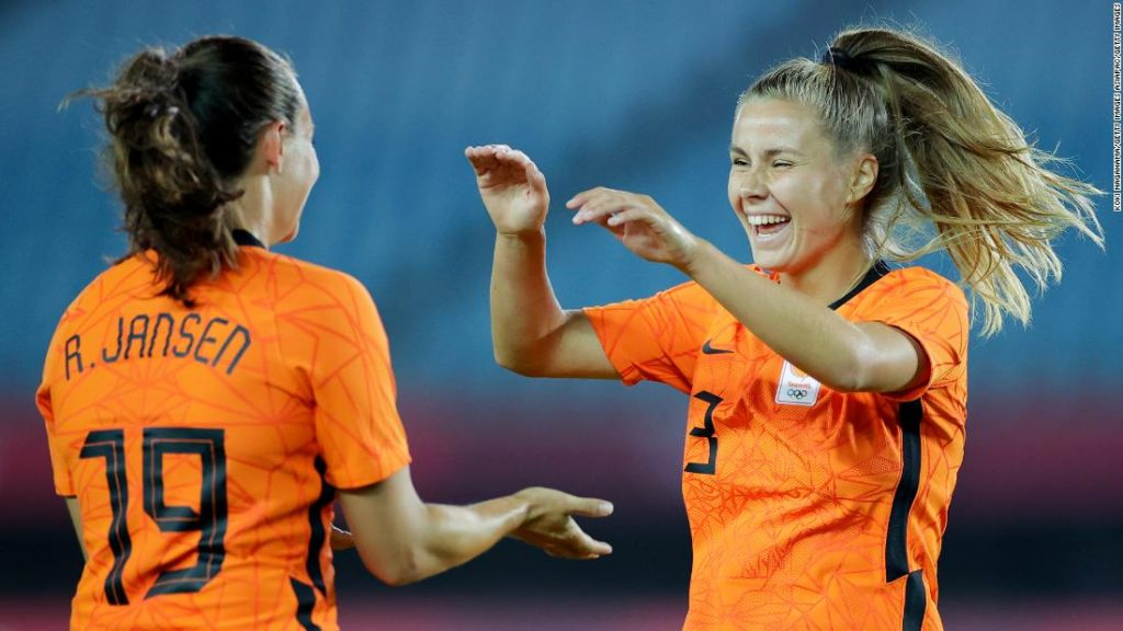 Netherlands thrashes Zambia 10-3 in girls's soccer event to set new Olympics file