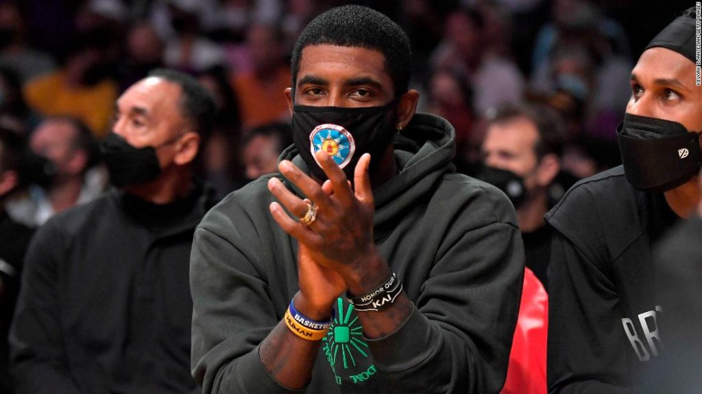 NBA commissioner Adam Silver hopes Kyrie Irving decides to get vaccinated in opposition to Covid-19