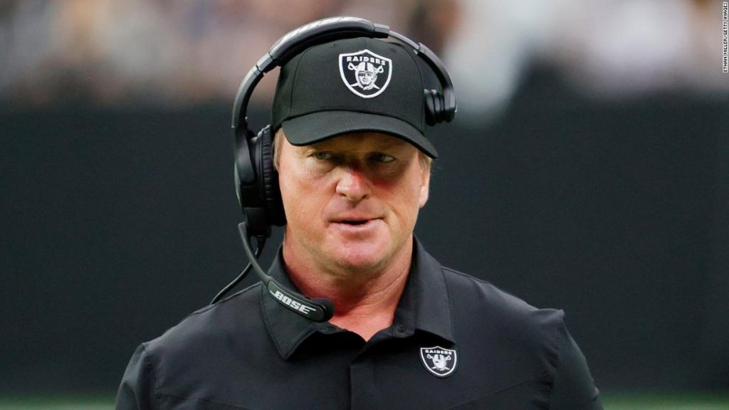 Jon Gruden: EA Sports are 'taking steps' to remove former Las Vegas Raiders head coach from Madden NFL 22