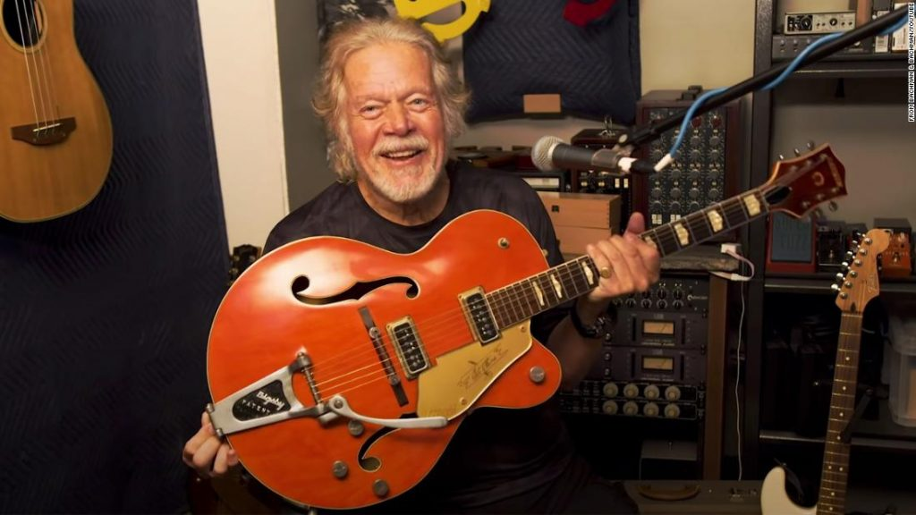 Randy Bachman's treasured Gretsch guitar was stolen 45 years in the past. An web sleuth helped the rock star discover it