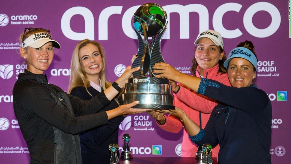 Crew Jessica Korda wins Aramco Crew Sequence — first Girls European Tour occasion held in US